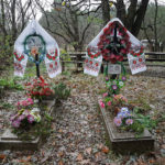 Cemetery in the Chernobyl Zone