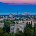 Views of Pripyat and the Chernobyl Nuclear Power Plant