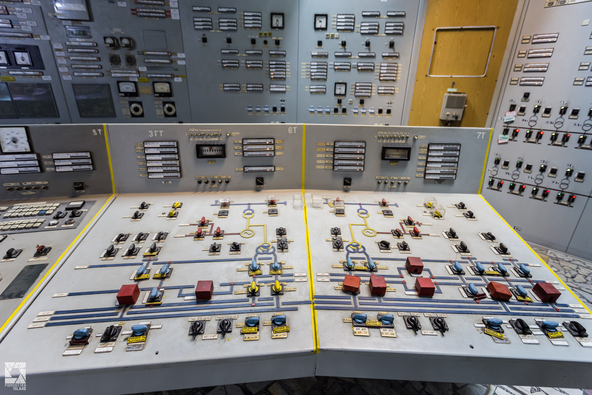 Chernobyl Nuclear Power Plant Control Room Forgotten Island