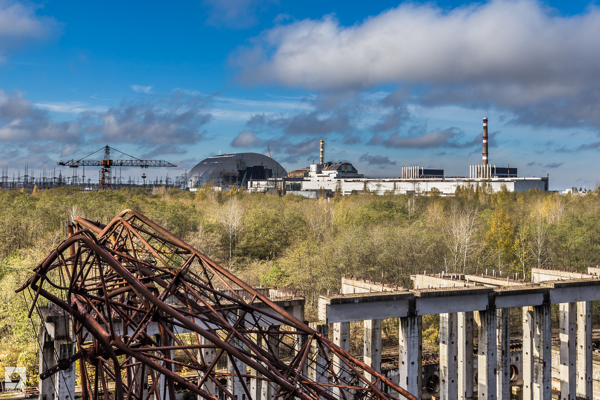 Chernobyl Reactor Block 5 And 6 Forgotten Island