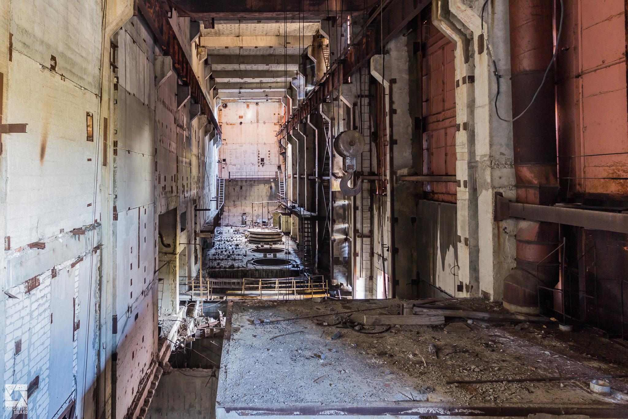 Chernobyl Reactor Block 5 And 6 Forgotten Island
