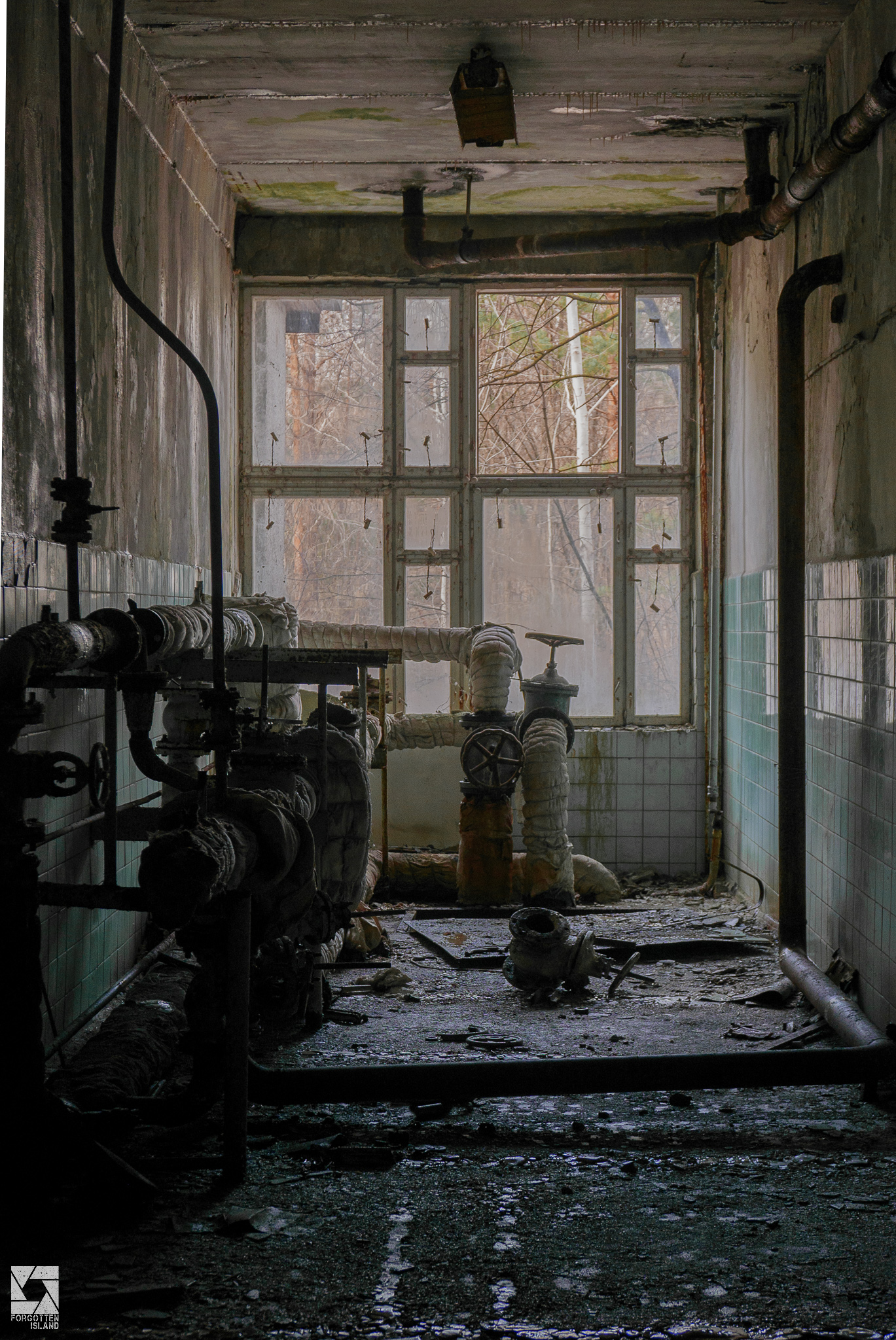 Canteen and Shops in Pripyat