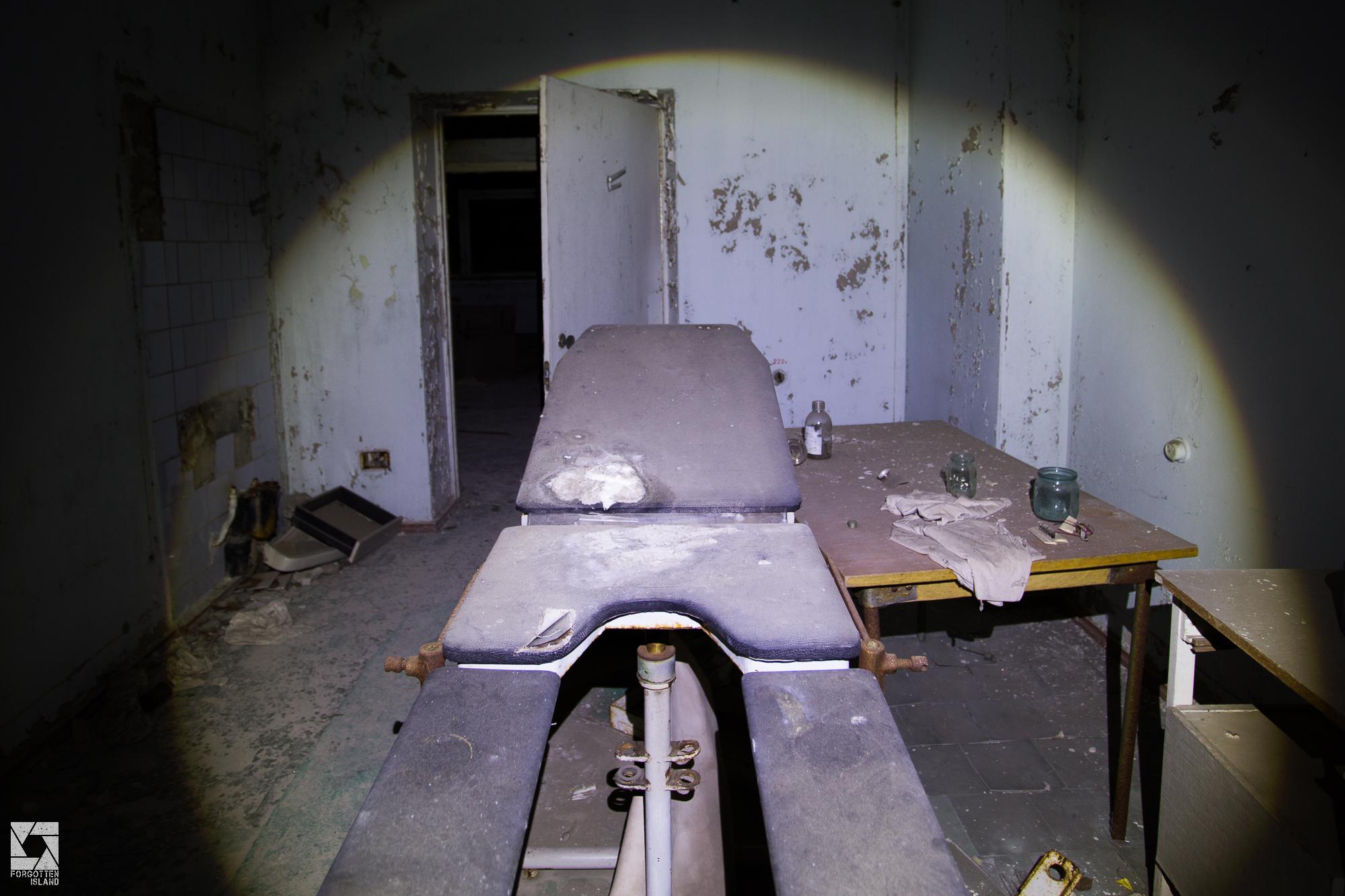 Pripyat Hospital at Night – Forgotten Island