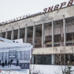 Winter in Pripyat Before and After the accident