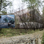 Pripyat Then and Now part 2 - Swimming Pool 'Lazurny'