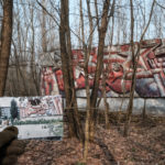 Pripyat Then and Now part 3 - Shops and Mosaics