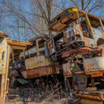 Rossokha Vehicle Graveyard in the Chernobyl Zone [Part 2]