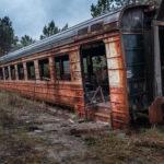 Yaniv Station in the Chernobyl Zone