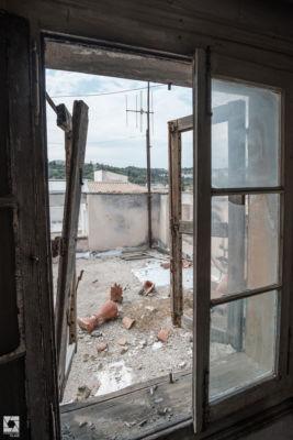 Abandoned Greek Villa