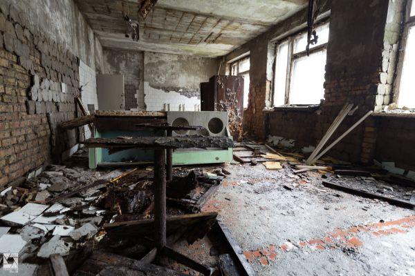 Pripyat Hospital and Basements